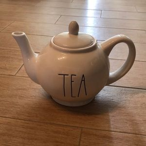"NEW Rae Dunn ""TEA"" Pot"